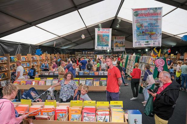 Geen jubileumeditie Stripfestival in Middelkerke