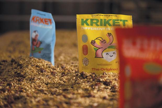 Insecten als ontbijt: Kriket brengt granola met krekels op de markt