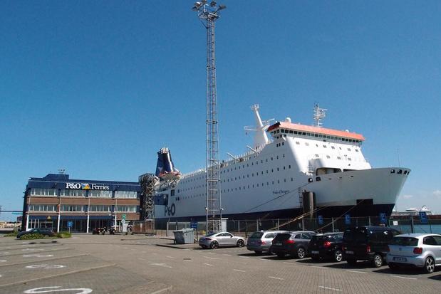 Geen jobverlies voor 48 bedienden P&O Ferries in Zeebrugge