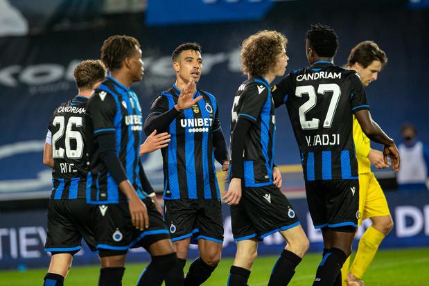 Club Brugge houdt schietoefening tegen Olsa Brakel