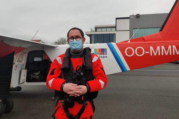 Minister Van Quickenborne controleert samen met kustwacht uitstoot van schepen