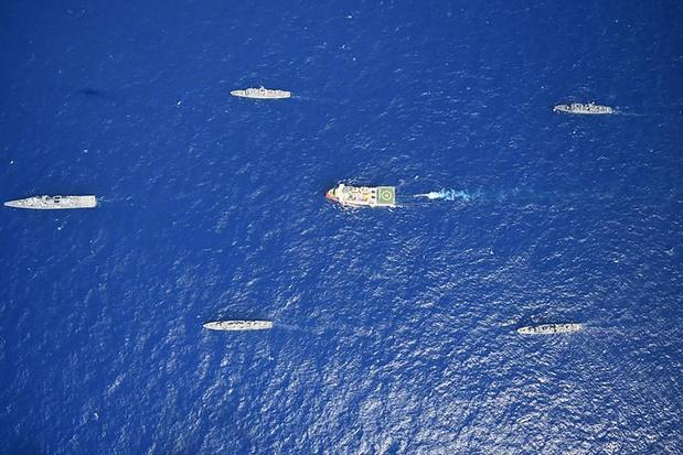 Erdogan roept op tot dialoog maar wil gasexploratie in Middellandse Zee voortzetten