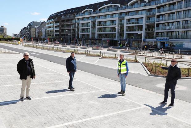 Vernieuwde Kapelstraat in Bredene is klaar