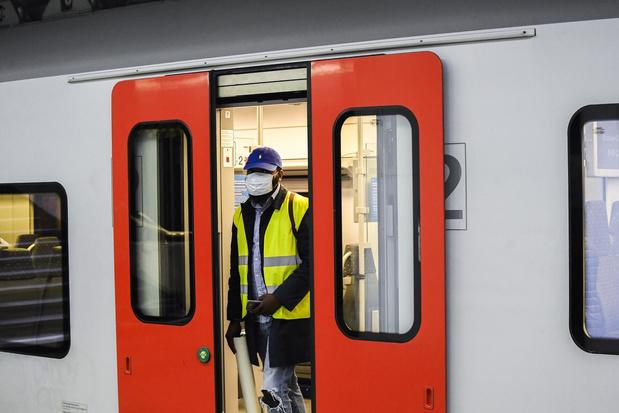 NMBS werkt aan app die drukte op trein weergeeft