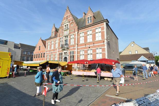 Voor het eerst in lange tijd markt in Oostkamp