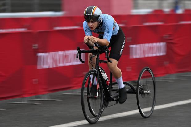 12e Belgische medaille op Paralympische Spelen: Tim Celen snelt naar brons in tijdrit