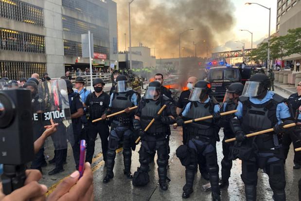 Opnieuw felle betogingen na dodelijk politiegeweld in VS
