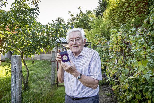 Maurice zet zich al 53 jaar in als bestuurslid voor de Gezinsbond in Staden