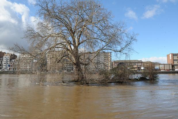 Klimaatverandering: ook in Wallonië stijgt het water