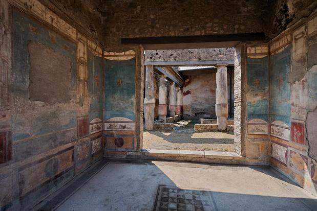 Pompeii lanceert virtuele tour door twee recent opgegraven villa's