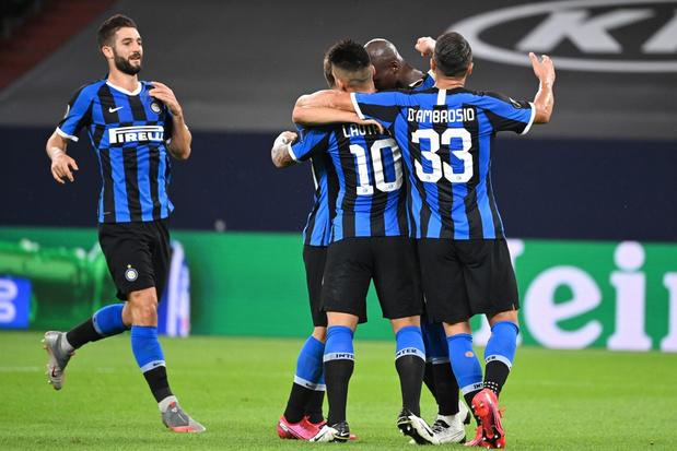 Lukaku trapt Inter naar kwartfinales Europa League