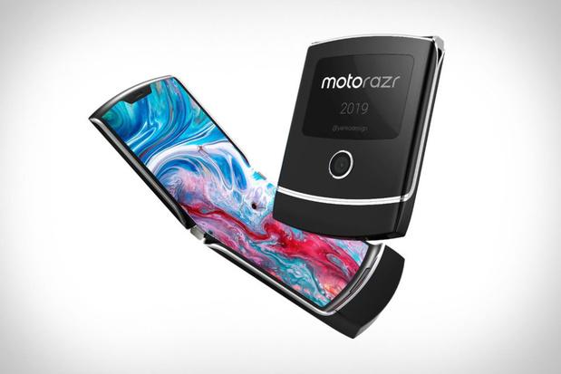 Ook Motorola heeft een opvouwbare telefoon