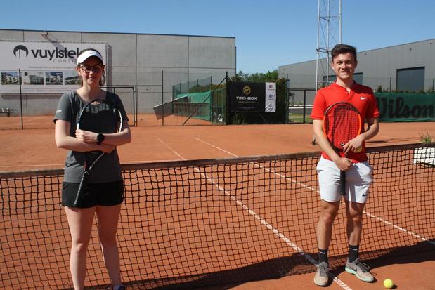 Leden van TC Bosterhout genieten opnieuw van een spelletje tennis
