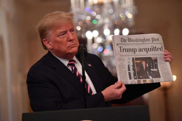 Donald Trump: 'We zijn door de hel gegaan'