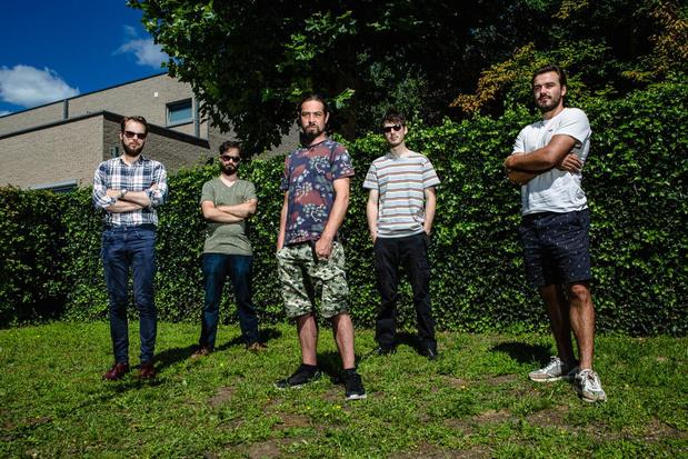 Voormalige metalheads en jazzcats vormen samen nieuwe groep: Hikkup