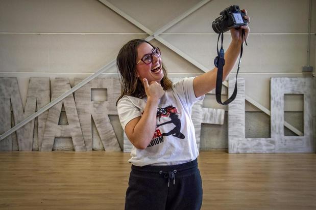 """Digitale danslessen bij dansschool Marie-Flo uit Lauwe: """"Klaar zijn voor het WK"""""""