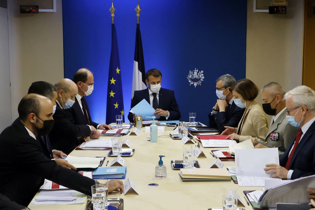 Macron wil snel veiligheidsberaad over Pegasus