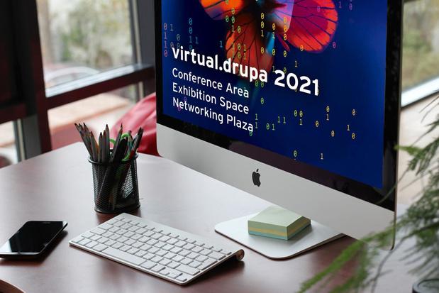 Aftellen naar een virtuele Drupa