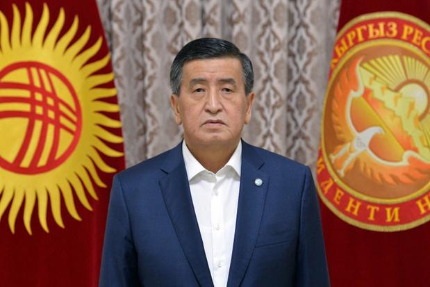 President Kirgizië stapt op