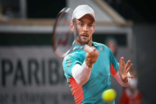 David Goffin legt positieve coronatest af en mist toernooi in Sint-Petersburg