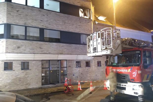 Bewoner die brand stichtte in appartement gecolloqueerd