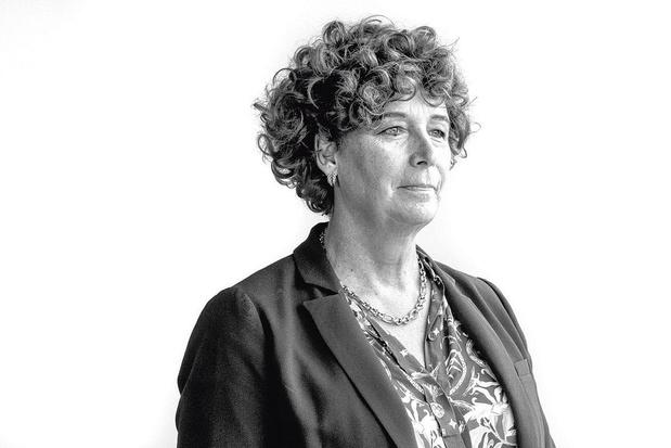 Minister van Overheidsbedrijven Petra De Sutter (Groen) wenst de nieuwe bpost-CEO alle succes toe
