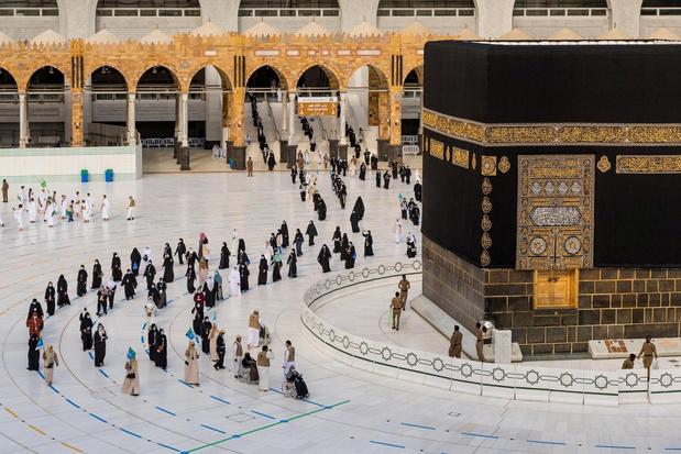 'Immune' bedevaartgangers luiden in Mekka begin ramadan in