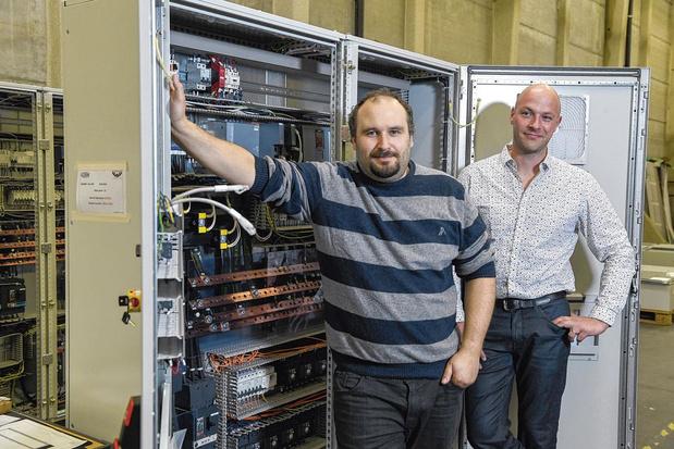 """Gazelles Hainaut 2021 """"Petites entreprises"""": V W Automation, croissance électrique"""