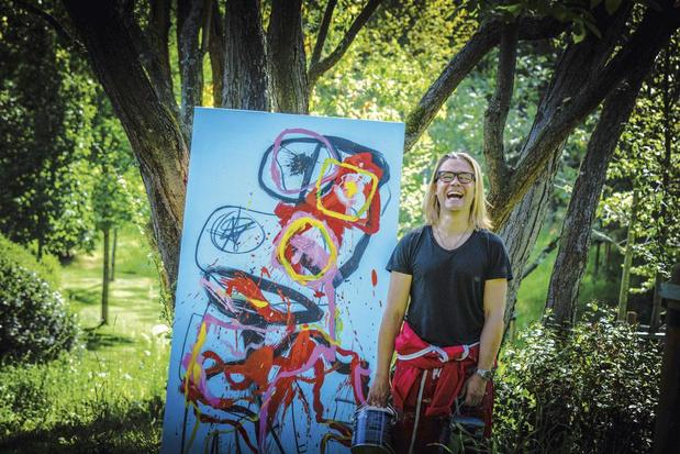 Un hommage à Cobra et à Basquiat