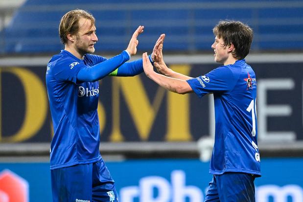 AA Gent plaatst zich moeiteloos voor achtste finales Croky Cup