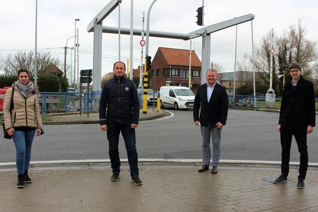 Gistelbrug in Oudenburg wordt verkeersveiliger