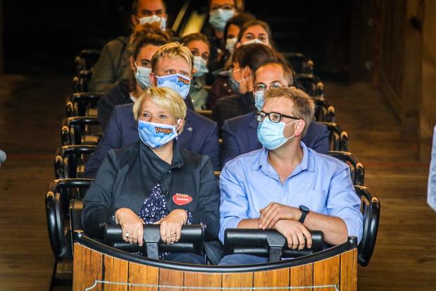 Minister Muylle kondigt goed nieuws aan tijdens stage in Plopsaland