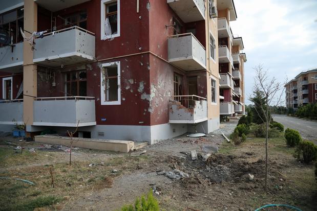 Erdogan ontkent aanwezigheid van pro-Turkse Syrische strijders in Nagorno-Karabach