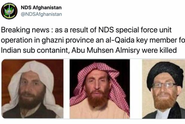 Leider van al-Qaeda gedood in Afghanistan