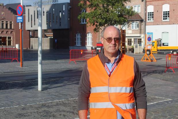 Plaatsmeester Rik Steelandt is aan allerlaatste kermis toe