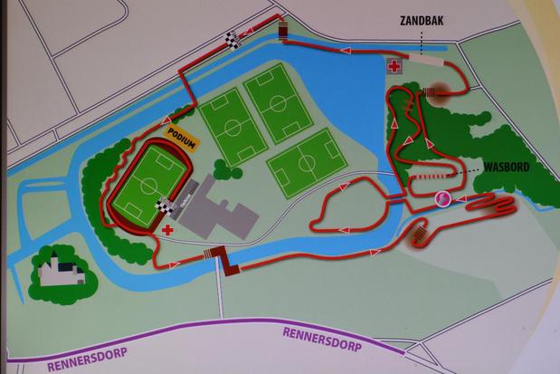 Ontdek het parcours voor het BK-veldrijden in Meulebeke