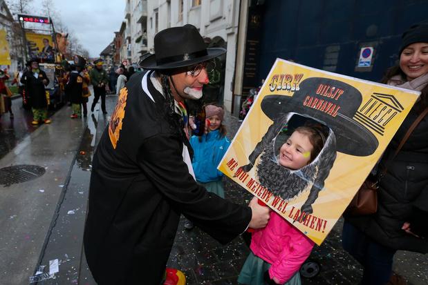 'Over de dubbele tong waarmee N-VA over Aalst Carnaval spreekt, zwijgt Jean-Marie Dedecker zedig'