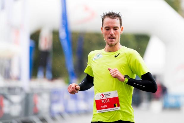 WK halve marathon eerste wedstrijd van Koen Naert in elf maanden