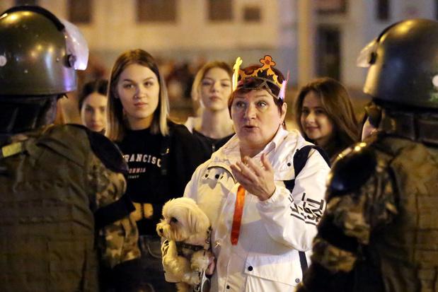 Meer dan 250 arrestaties tijdens nieuw protest tegen Loekasjenko
