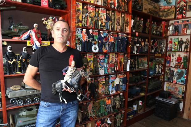 """Steve Dehaene verzamelt Action Man-figuren: """"Ik heb de poppen uit mijn kindertijd herontdekt"""""""