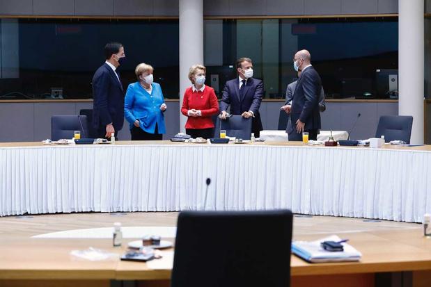 'De welvaart van Europa zit hem in zijn eenheid, zijn gemeenschap en zijn eengemaakte markt'