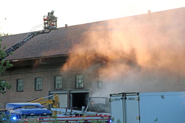 Brand beschadigt machine bij vetverwerkend bedrijf Eurofat in Moen