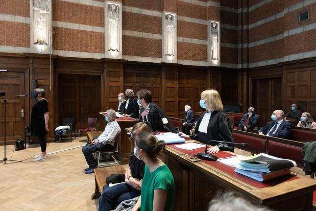 Euthanasie de Tine Nys: les avocats des parties civiles et de la défense à la barre