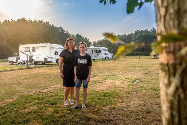 Naast d'Oude Koestal is er nu ook een camperplaats aan Meikensbossen in Dentergem