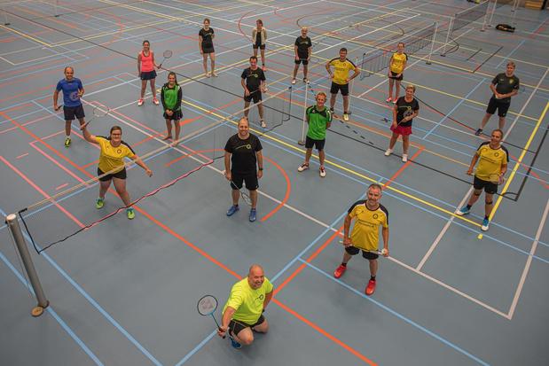 Bestuur Badmintonclub Tielt zat niet stil tijdens coronacrisis