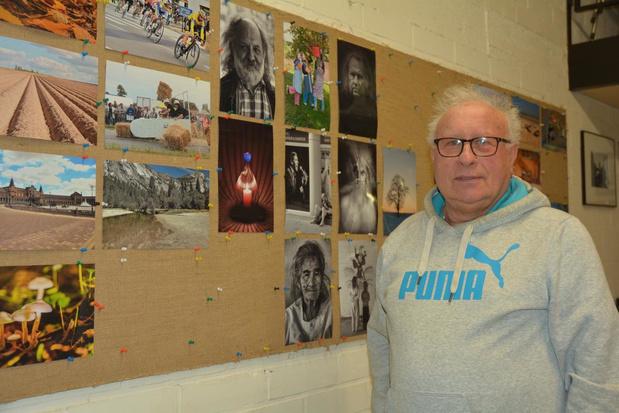 Jacques Van der Beken uit Oostrozebeke is al vijftig jaar met fotografie bezig