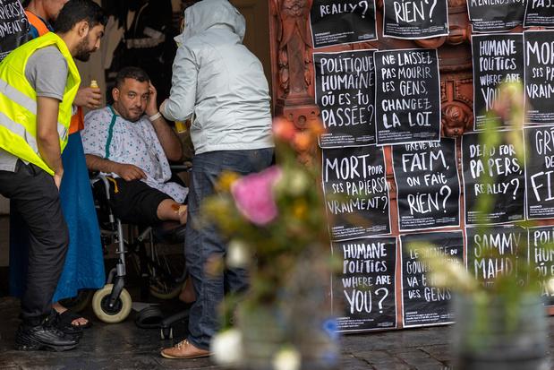 Hongerstakers: PS wil sans-papiers werkvergunning geven voor knelpuntberoep