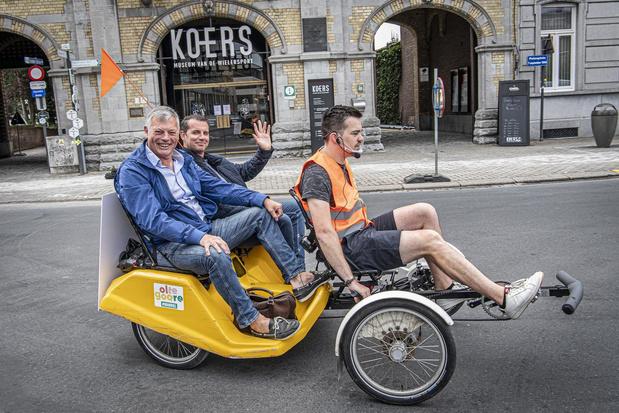 Voor u getest: met de fietstaxi Roeselare (her)ontdekken
