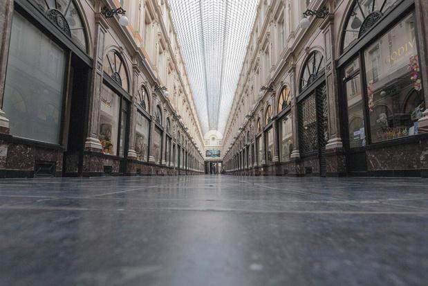Bruxelles au temps du Covid: la capitale à genoux