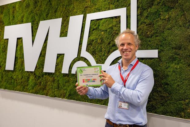 Waregems bedrijf TVH pioniert met internationaal UNITAR-certificaat